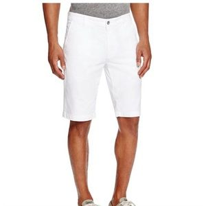AG Adriano goldschmied griffin white shorts 32